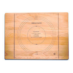 Catskill Craftsman - Perfect Pastry Cutting Board - Every kitchen needs a Perfect Pastry cutting board Cooking accessory is branded with Perfect Pastry measurementsAdd a new dimension to your dining experience using this durable cutting board