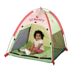 """Pacific Play Tents - Star Light Deluxe Lil Nursery Tent Multicolor - 20004 - Shop for Tents and Playhouses from Hayneedle.com! About Pacific Play TentsPacific Play Tents is a privately owned company dedicated to providing creative high-quality and imaginative products for indoor and outdoor use. Each item is painstakingly tested to ensure long lasting fun and structures designed to last. The company's devotion to this is consistently validated through more and more awards. They have designed their tents and tunnels to be interchangeable. The company constantly strives to make better more imaginatively designed products for you to enjoy. This dedication combined with their unparalleled customer service and focus on quality has elevated them to be recognized as the """"best of the best."""""""