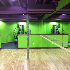 Contemporary Home Gym by skip knoll inc professional remodeling