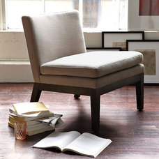 Modern Living Room Chairs by West Elm