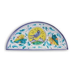Ceramic - Bird of Prosperity Arch Plaque - Bird of Prosperity Arch Plaque