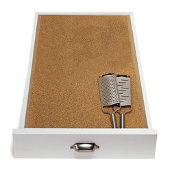 Cork Drawer Liner - Protect your wood drawers by lining them with cork liners.