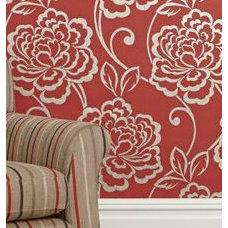 Wallpaper Red Paloma Wallpaper