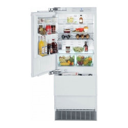 """Liebherr - Premium Plus HC 1541 30"""" 14.1 Cu. Ft. Built In Bottom-Freezer Refrigerator  Soft - The HC 1540HC 1541 model is perfect for a seamless design because it is cleverly concealed behind cabinet doors With a fully integrated door-ondoorsystem that incorporates strong hinges for a onvenient closing of doors even when fully loaded Double f..."""