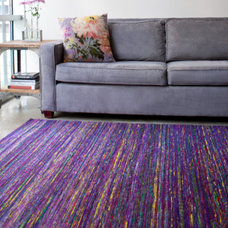 Eclectic Living Room by Hemphill's Rugs & Carpets