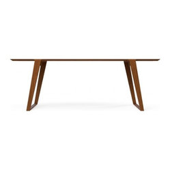 Kalon Studios Isometric Table Walnut