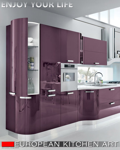 contemporary kitchen cabinets by Vadim Kadoshnikov
