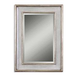 Uttermost - Uttermost 12640 B Ogden Antique Light Blue Mirror - Uttermost 12640 B Ogden Antique Light Blue Mirror