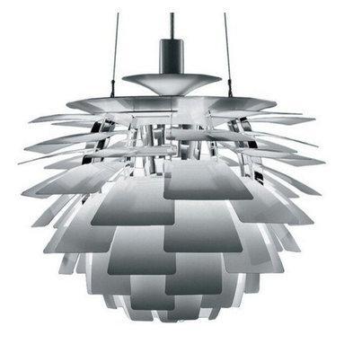 Louis Poulsen PH Artichoke Lamp Silver by Poul Henningsen -