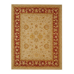 """Safavieh - Anatolia Brown/Red Area Rug AN522C - 2'3"""" x 12' - Anatolia Collection brings old world sophistication and quality in new tufted rugs. This collection captures the authentic look and feel of the decorative rugs made in the late 19th century in this region. Hand spun wool and an ancient pot dying technique together with a densely woven thick pile, gives Anatolia rugs their authentic finish."""