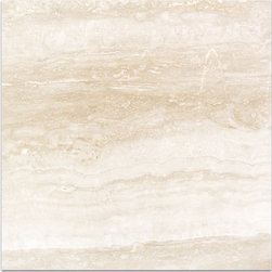 Navona Travertine Tiles - THE GENTLE HORIZONTAL FLOW OF NAVONA, WITH ITS SUBTLE RIBBONS OF EGGSHELL, BUTTERMILK AND PEACH PROVIDE TRANQUILITY IN ANY APPLICATION, FROM CONTEMPORARY TO RUSTIC.
