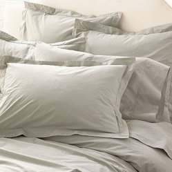 Washed Percale Bedding Set