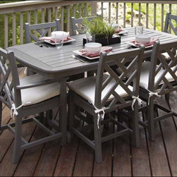 Fifthroom - POLYWOOD 6 Seat Chippendale Dining Set -