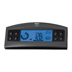 Weber - Weber Barbecue Thermometer Multicolor - 6742 - Shop for Accessories and Parts from Hayneedle.com! Keep the guess-work out of your grilling with the Weber Barbecue Thermometer on the job. This handy thermometer can be programmed to recommend ideal temperatures for various meats. With an easy to read digital screen it displays the time current temperature and even a timer.About Weber GrillsWeber-Stephen Products Co. headquartered in Palatine Ill. is the premier manufacturer of charcoal and gas grills grilling accessories and other outdoor room products. A family-owned business for more than 50 years Weber has grown to be a leading seller of outdoor grills worldwide.