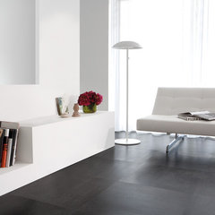 modern wood flooring by Paul Anater