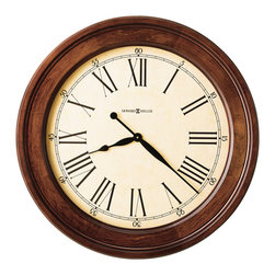 "Howard Miller - Howard Miller Gallery Large 30"" Cherry Wall Clocks 
