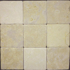 bathroom tile Tumbled Jerusalem Gold