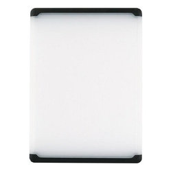 OXO Good Grips 10-1/2-by-15-Inch Utility Cutting Board, Black Edge