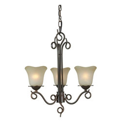 Talista - Talista Chandeliers 3-Light Antique Bronze Chandelier with Umber Glass Shade - Shop for Lighting & Ceiling Fans at The Home Depot. The Burton Collection supplied by CLI features a wide variety of classic fixtures. If you are looking for a sensible way to dress up a room there is no better choice than this 3-Light Chandelier in an Antique Bronze Finish complimented by Shaded Umber Glass. From the modest chandeliers to the more rustic outdoor lighting the Burton Collection will add a charming accent to any application.