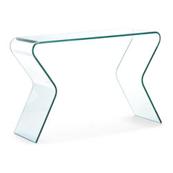 Zuo Modern - Respite Console Table - Curvaceous and seductive, the Respite console table brings sexy into any room.