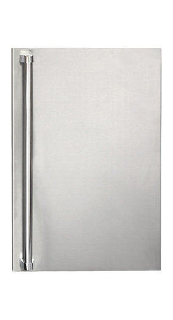 Summerset - Refrigerator Door Sleeve Upgrade - #304 Stainless Steel Construction