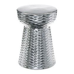 Cyan Design - Chrome Cone Stool - Chrome cone stool - chrome