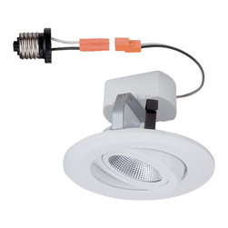Designers Fountain - Designers Fountain LED4742-WH White 3 Height IC Rated LED New Construction / Rem - Bulb Base and Compatibility: LED - Light Emitting Diode: Highly efficient diodes produce little heat and have an extremely long lifespan. The Designers Fountain Story: