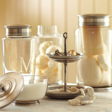 Contemporary Bathroom Canisters by Pottery Barn