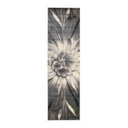 """Nourison - Nourison Utopia UTP05 2'3"""" x 8' Ivory Taupe Area Rug 05127 - Experience flower power! This big bold bloom takes floral to a whole new dimension in a full-blown image that's petal perfect. The vivid graphic brings a burst of excitement to your decorating scheme."""