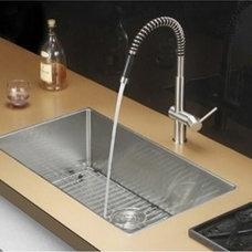 "30"" Undermount Stainless Steel Single Bowl Kitchen Sinks by Gravena"