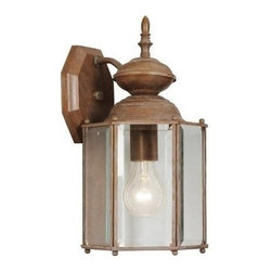Livex Lighting - Livex Outdoor Basics Outdoor Wall Lantern Weathered Brick -2007-18 - Livex products are highly detailed and meticulously finished by some of the best craftsmen in the business