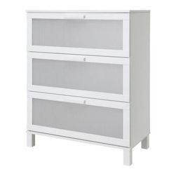 Tord Björklund - ANEBODA 3 drawer chest - 3 drawer chest, white