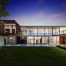 Modern Rendering by Baldridge Architects
