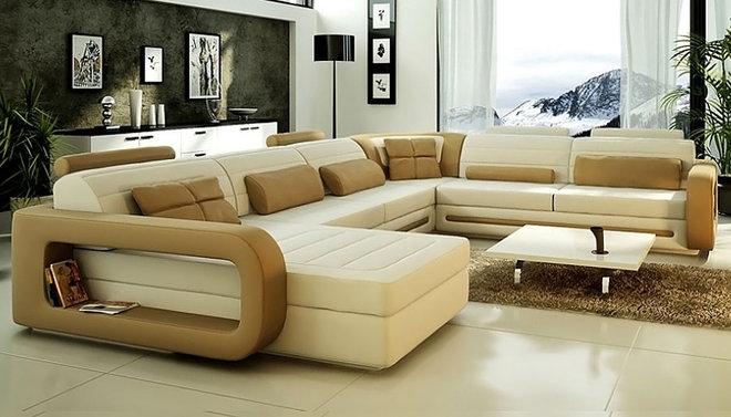 Modern Sectional Sofas U Shape Sectional Sofa CL-S8592