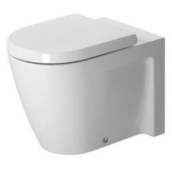 Duravit - Duravit - Toilet floor standing, back to wall, Starck 2 - 2128090000 - Starck-2 Series