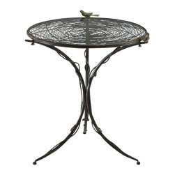 Cyan Design - Bird Bistro Table - Bird bistro table - muted rust