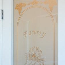 Contemporary Pantry by Heartstone Custom Builders