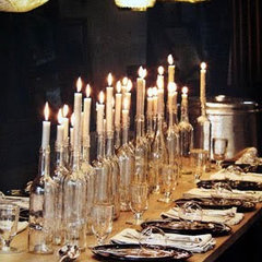 Clear Bottle Candle Holders — i do it yourself™