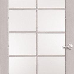 Authentic Wood Doors - Primed Glass Door 12-Lite