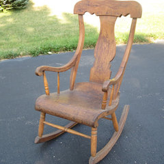 traditional rocking chairs by Etsy