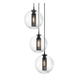 Sonneman | Tribeca 3-Light 12in Pendant Light -