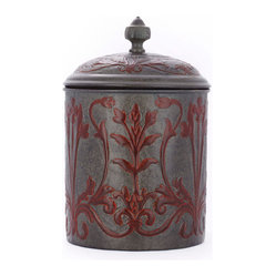 "7"" Dia. x 10½"" H. ""Art Nouveau"" Cookie Jar w/Fresh Seal Cover, 4Qt."