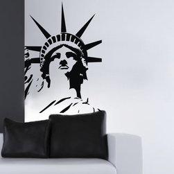 ColorfulHall Co., LTD - Vinyl Decals American New York City Landmark the Statue of Liberty - Vinyl Decals American New York City Landmark the Statue of Liberty