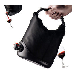 Wine Sack - If it's a hot day, you might want to consider bringing a wine cooler to keep your wine at just the right temperature all through the meal. A nonslip rubber base keeps this cooler stable, and a reinforced handle makes it easy to transport.
