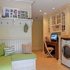 Contemporary Laundry Room by Case Design/Remodeling San Jose