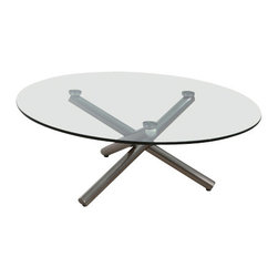 Whiteline Imports - Whiteline Imports Lux Coffee Table - Coffee table belongs to Lux collection by Whiteline