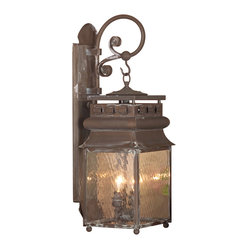 Artistic Lighting Lancaster Collection, Charcoal Wall Lantern 804-C - HomeThangs