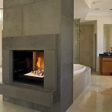 Modern Indoor Fireplaces by townandcountryfireplaces.net