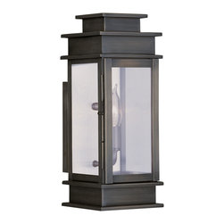 Livex Lighting - Livex Lighting 2013-29 Princeton Wall Light Vintage Pewter - -Finish: Vintage Pewter