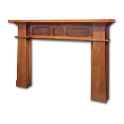 Craftsman Mantel - The minimum dimensions on our Craftsman Mantel are:
